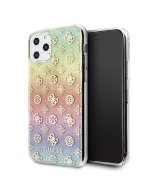 iPhone 11 Pro • Mobilskal • Iridescent 4G Peony • GUESS • Multi
