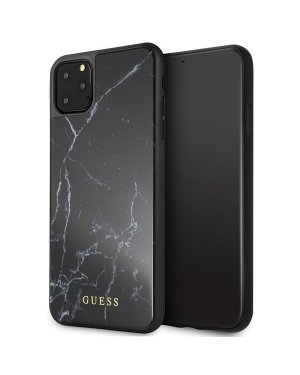 iPhone 11 Pro Max Mobilskal - Marble - GUESS - Svart