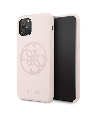 iPhone 11 Pro Max Mobilskal - Guess - Tone On Tone - Rosa