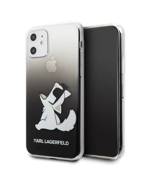 iPhone 11 Mobilskal - Karl Lagerfeld - Black Choupette Fun