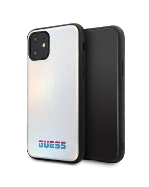 iPhone 11 Pro Max Mobilskal - Iridescent - GUESS - Silver