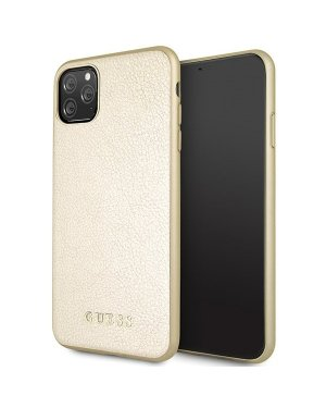 iPhone 11 Pro Max Mobilskal - Iridescent - GUESS - Guld
