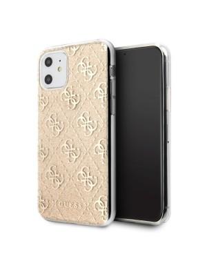 iPhone 11 Mobilskal - Guess - Glitter - Guld