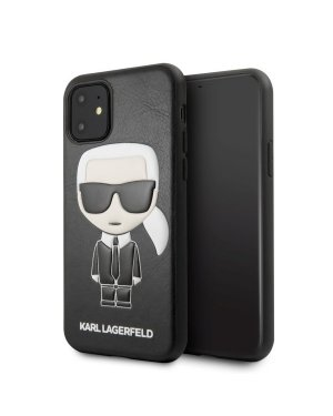 iPhone 11 Mobilskal - Karl Lagerfeld - Ikonik Karl Embossed