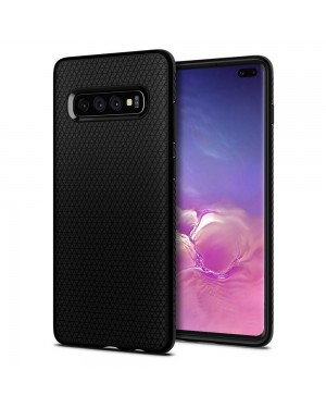 Galaxy S10 Plus Mobilskal - Spigen Liquid Air - Mattsvart