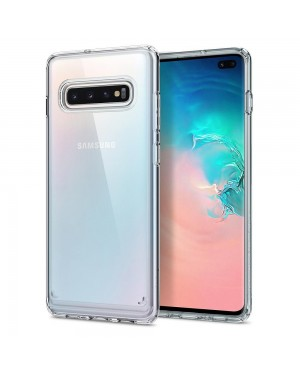 Galaxy S10 Plus Mobilskal - Spigen Ultra Hybrid - Crystal Clear