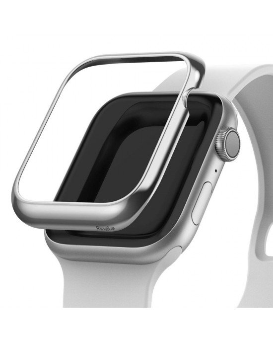 Design Bezel • Apple Watch 4/5 (40MM) • Ringke • Blank Silver