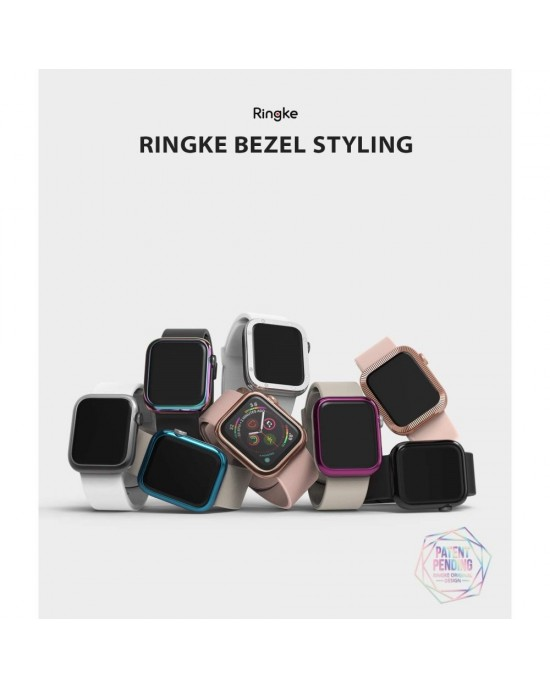 Design Bezel • Apple Watch 1/2/3 (38MM) • Ringke • Blank Roséguld