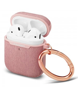 Airpods Skal - Spigen Urban Fit - Rosa