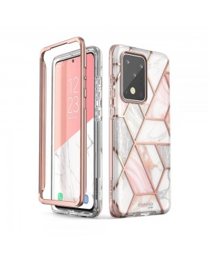 Samsung Galaxy S20 Ultra Mobilskal - Supcase Cosmo - Marble - Rosa