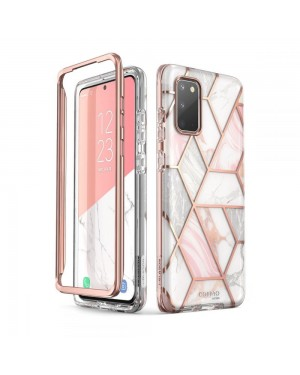 Samsung Galaxy S20 • Mobilskal • Supcase Cosmo • Marble • Rosa