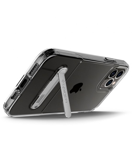 iPhone 12 Pro Max • Mobilskal • Spigen Slim Armor Essential S • Transparent