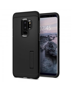 Galaxy S9 Plus Mobilskal - Spigen Tough Armor - Svart