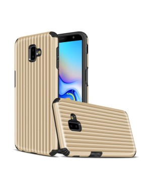 Galaxy J6 Plus Mobilskal - Travel case - Guld