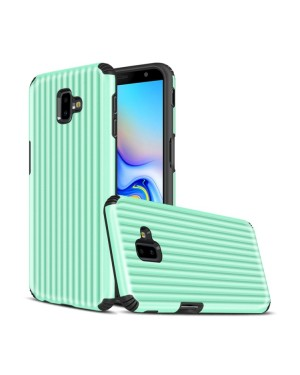 Galaxy J6 Plus Mobilskal - Travel case - Mintgrön