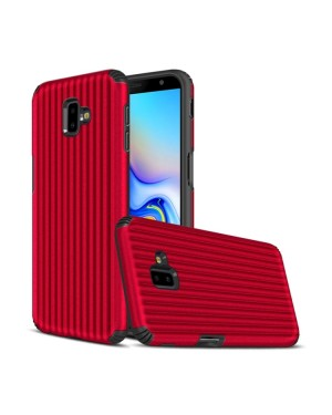 Galaxy J6 Plus Mobilskal - Travel case - Röd