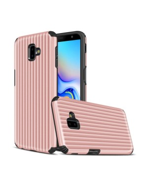 Galaxy J6 Plus Mobilskal - Travel case - Rosèguld