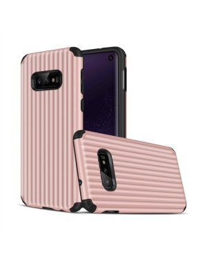 Galaxy S10e Mobilskal - Travel case - Rosèguld