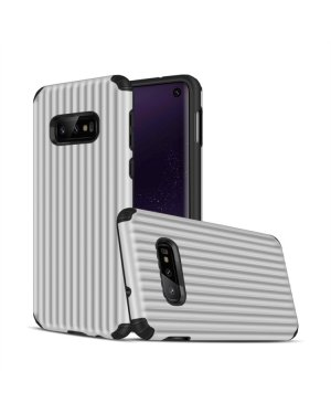 Galaxy S10e Mobilskal - Travel case - Silver