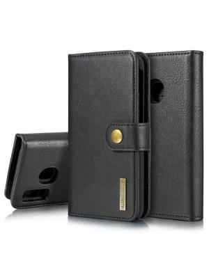 Galaxy A40 Mobilfodral - Plånboksfodral - Delbart - Svart