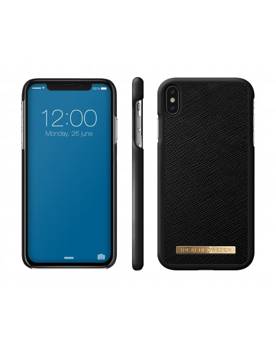 IDEAL FASHION CASE SAFFIANO IPHONE XS MAX BLACK