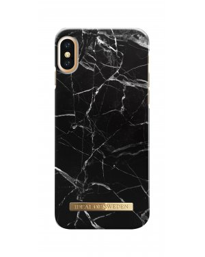 IDEAL FASHION CASE IPHONE X/XS BLACK MARBLE
