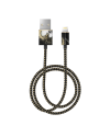 IDEAL FASHION CABLE LIGHTNING 1 M BLACK GALAXY MARBLE