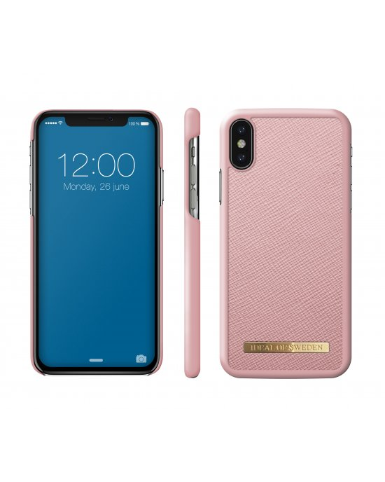 IDEAL FASHION CASE SAFFIANO IPHONE X/XS PINK